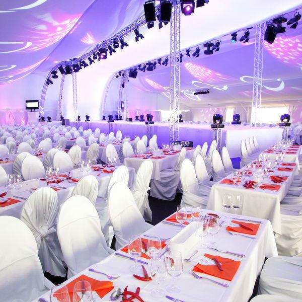 Beispiel: Impression des Hochzeits Catering, Foto: Maiergrill AG • Eventcatering & Vermietung.