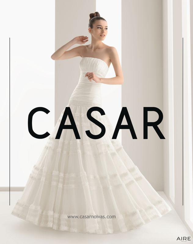 Vestido de noiva NUN - AIRE BARCELONA