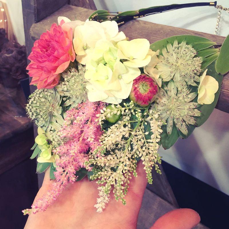 Collier de fleur mariage