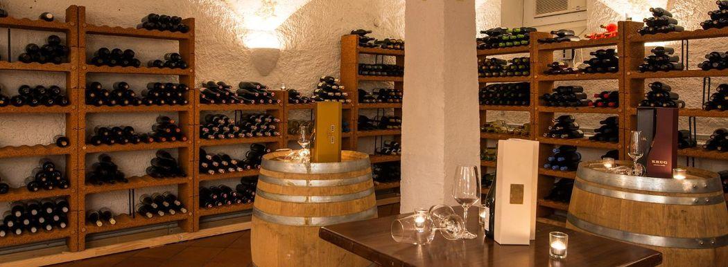 Beispiel: Weinkeller, Foto: Château Gütsch.