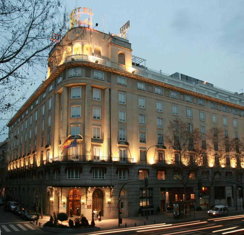 Fachada Hotel Wellington