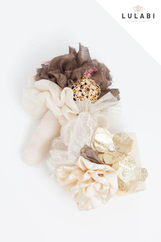 LULABI Handmade Flowers/Réplica y Brazalete