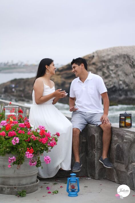 Engagement  Sesion Playa Punta Hermosa