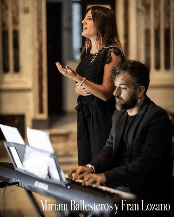 Miriram Ballesteros y Fran Lozano