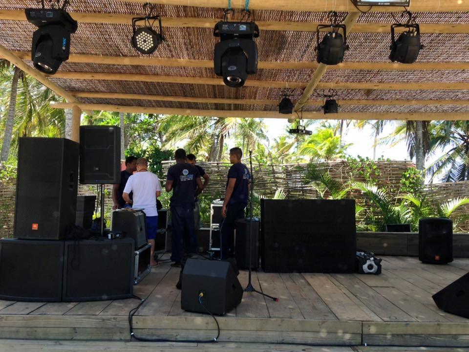 Som e Luz DJ  Casamento - Fernanda e Cristiano 05/03/2016  em Cafe de la Musique - Trancoso - Bahia