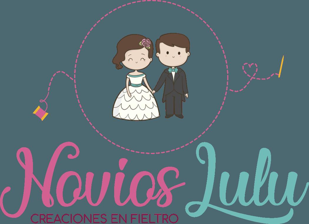 Novios Lulu - Creaciones en fieltro