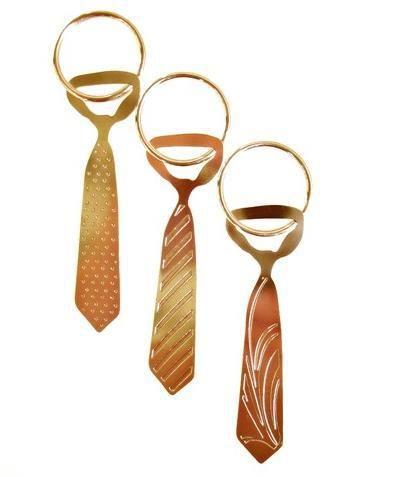 Chaveiros gravatinhas para a hora da gravata.