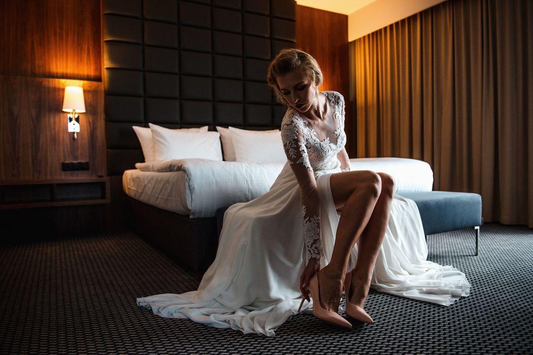 Przygotowania w hotelu Heron