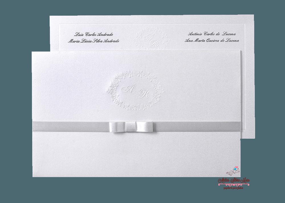 Convite  Tradicional - Ref. CS.0180