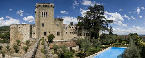 Vista panorámica castillo