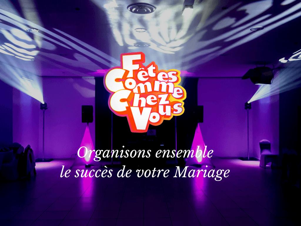 Faisons de votre mariage un succès !