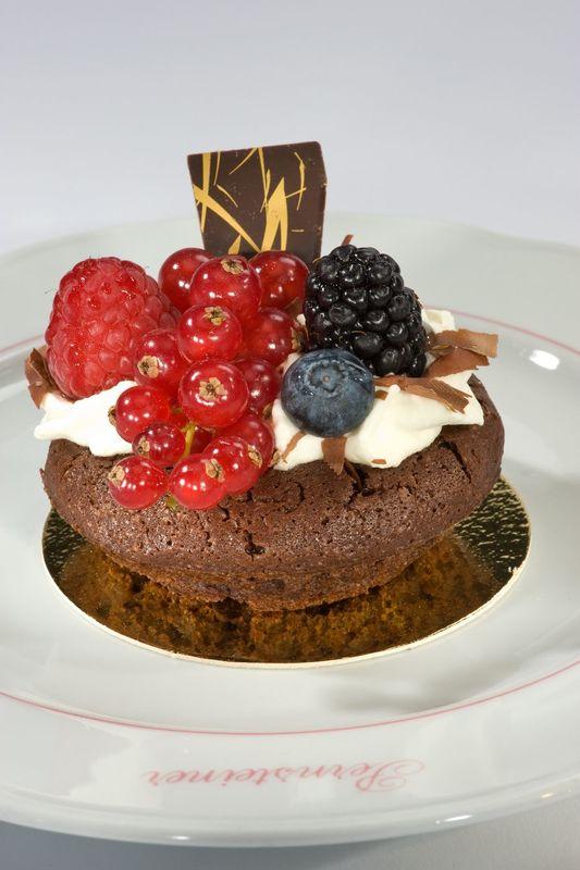 Beispiel: Dessertvorschlag, Foto: Konditorei Pernsteiner.