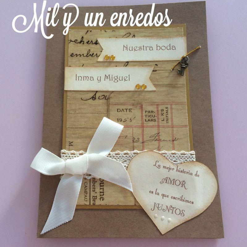 Mil y un enredos invitaciones bodas altavistaventures Image collections