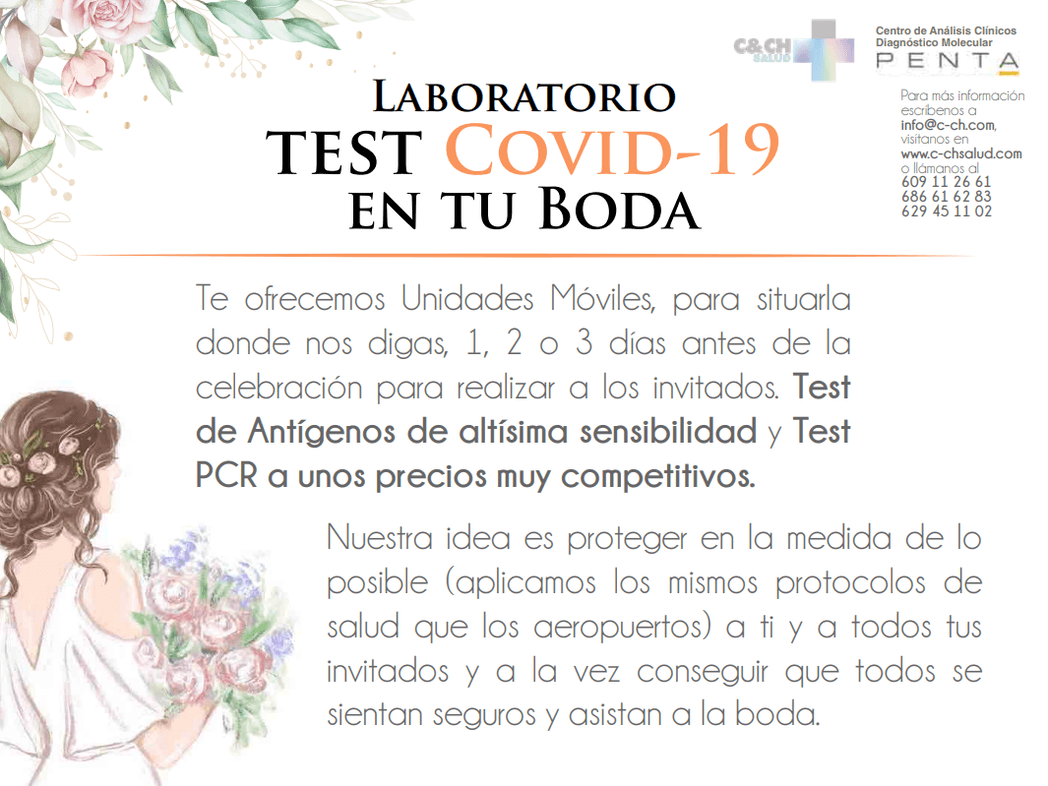 Laboratorio Móvil test Covid-19