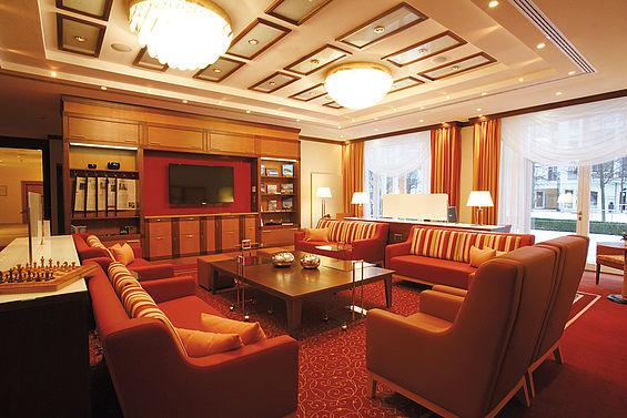 Beispiel: Lounge, Foto: Travel Charme Ostseehotel Kühlungsborn.