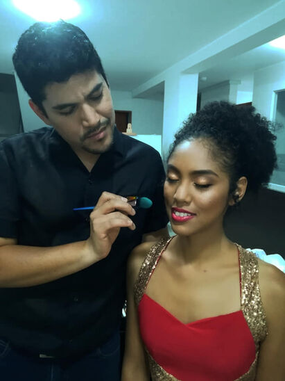 Sam Da'Silva  Make Up Artist