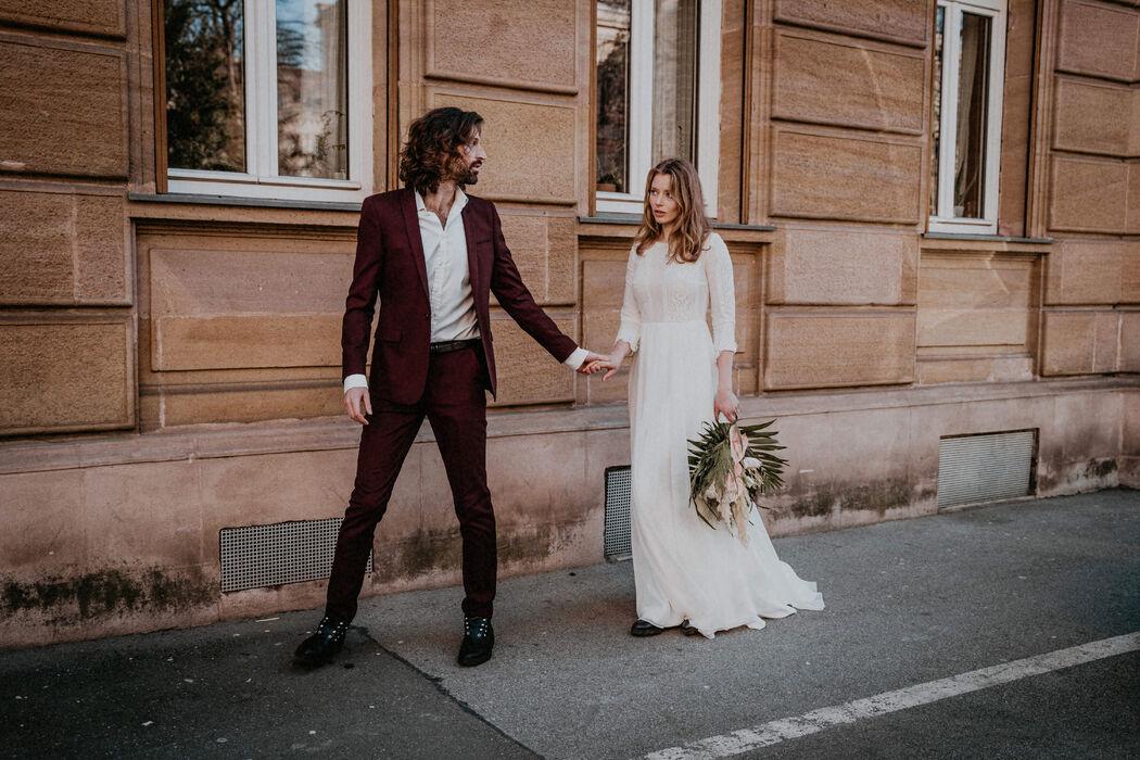 Bube Dame Hochzeit