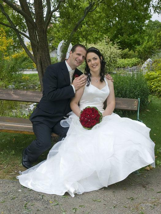 Beispiel: Brautpaar, Foto: Styling Lounge.