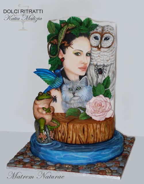 Madre Natura ritratto di Angiolina Jolie attrice