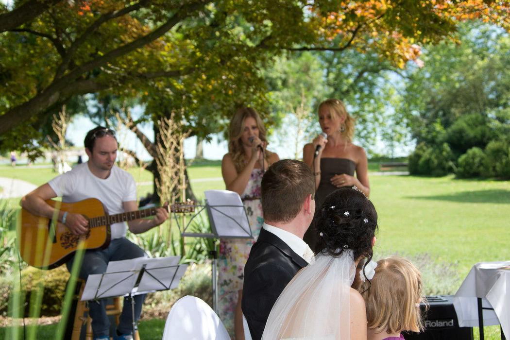 Beispiel: The Weddingsingers, Foto: The Weddingsingers.