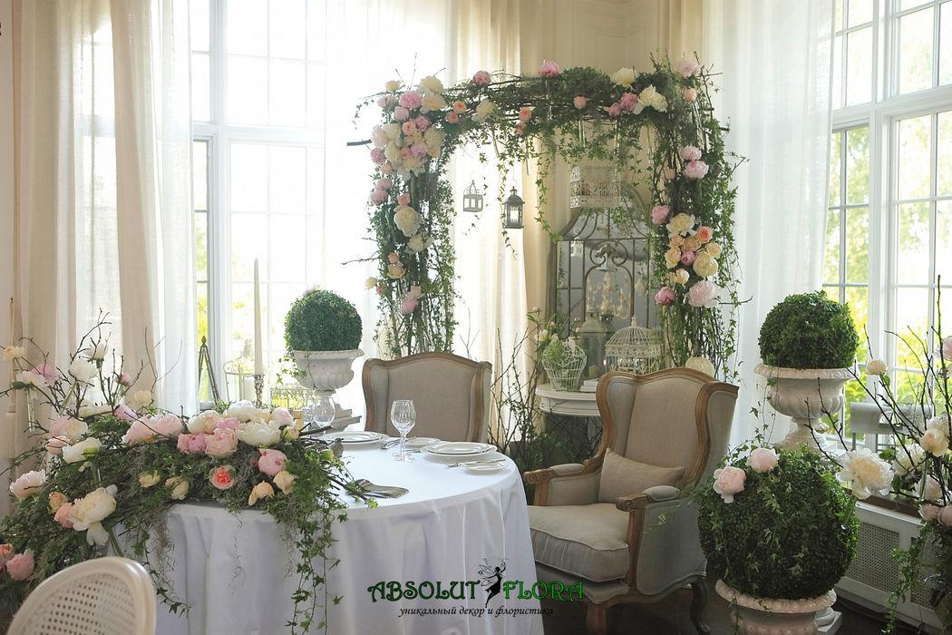 Декор свадьбы в стиле