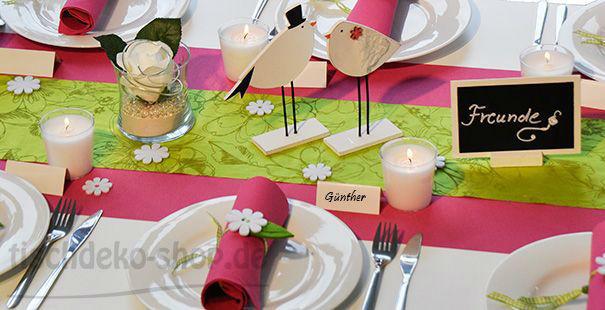 Tischdeko hochzeit for Tischdeko shop