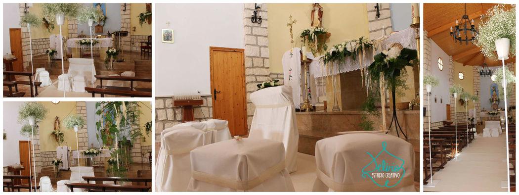 Detalles decoración altar