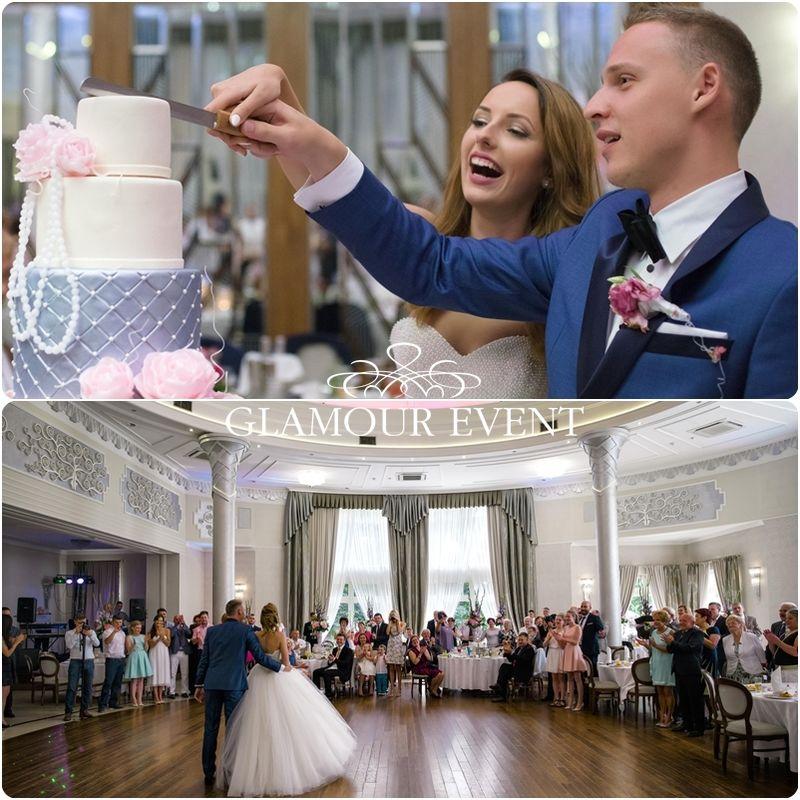 Piękne wesele w stylu pałacowym. fot. Bartek Szulczyński
