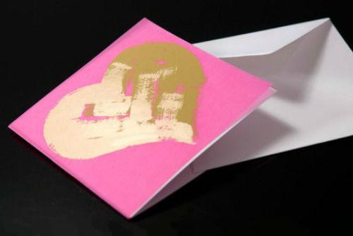 Beispiel: Einladungskarte zur Hochzeit, Foto: Bethge Hamburg.