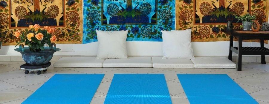 Salle polyvalente - cours de yoga