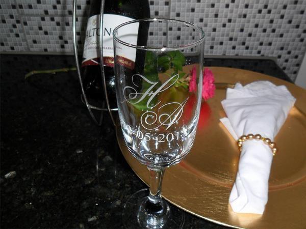 Taça de Vidro Personalizada : Modelo Gallant 180 ml