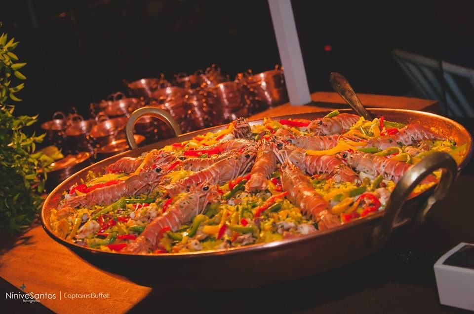 Paella - Opção Jantar Estacionado