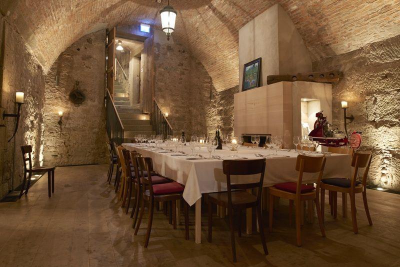 Gewölbekeller gestalten  Verdi-Gewölbekeller im Ristorante Verdi | Hochzeit