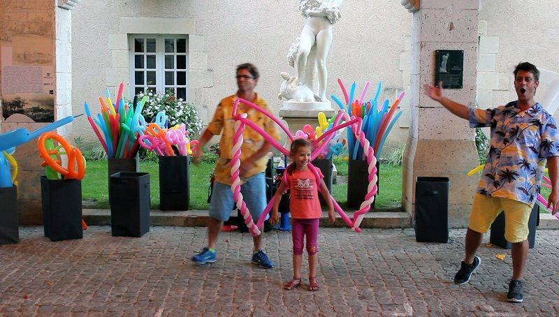 Spectacle Ballons mariage Aquitaine