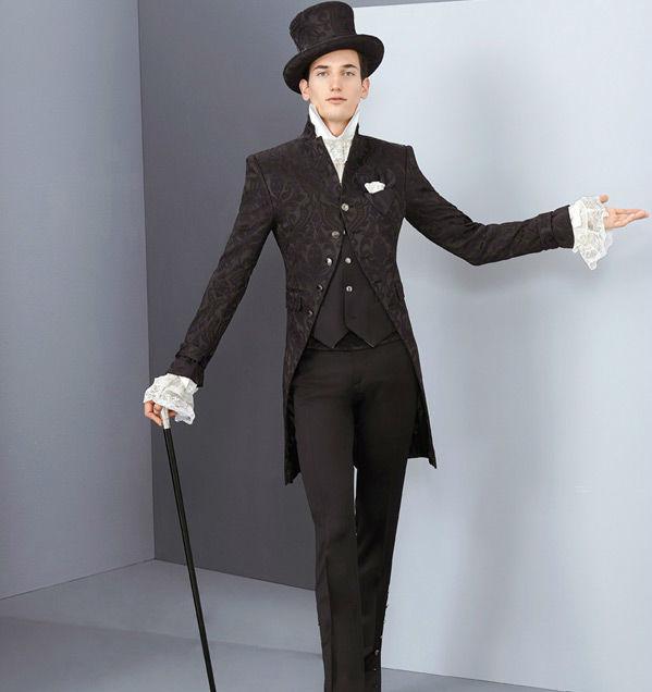 Beispiel: Kleiden Sie sich festlich, Foto: Milano Männermode.
