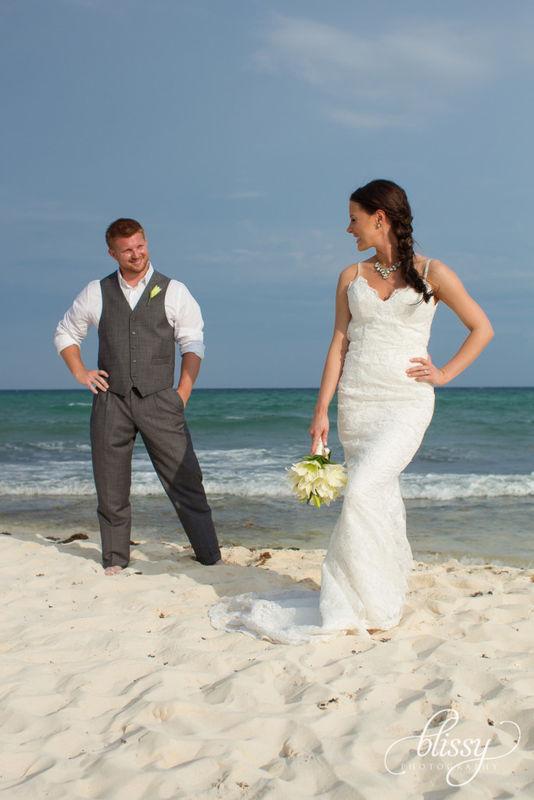 Trash The Dress. Riviera Maya