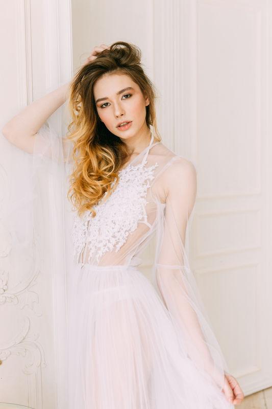 Будуарное платье  Ариэль