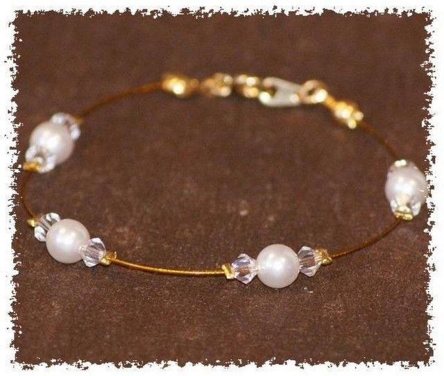 Bracelet mariage Flo et Merveilles