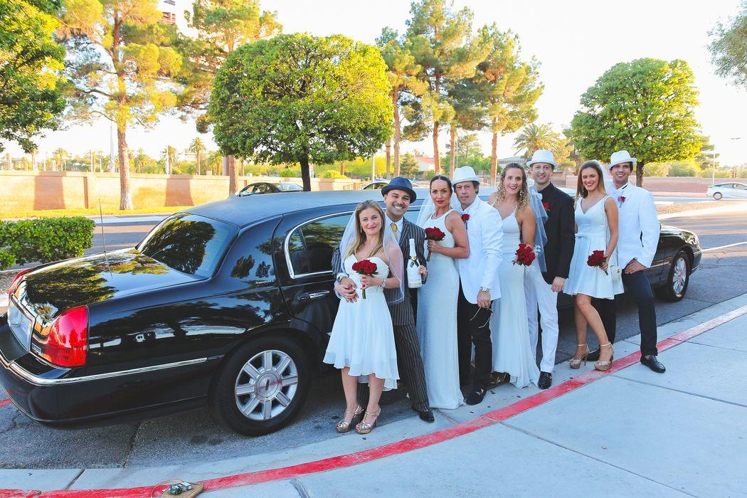Cerimonial Las Vegas - Casamento em grupo