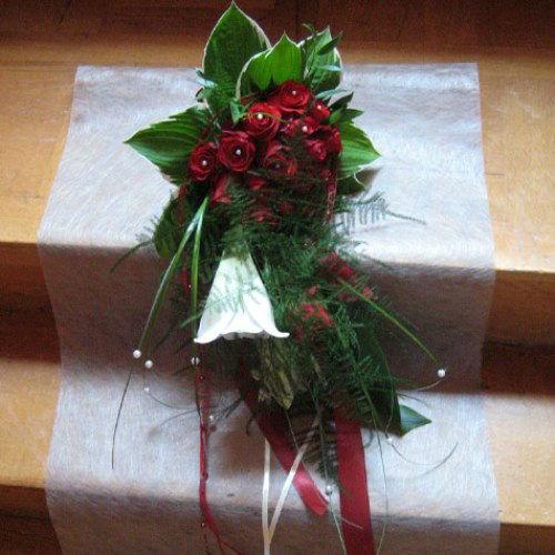 Beispiel: Hochzeitsfloristik, Foto: Das Deko Team.