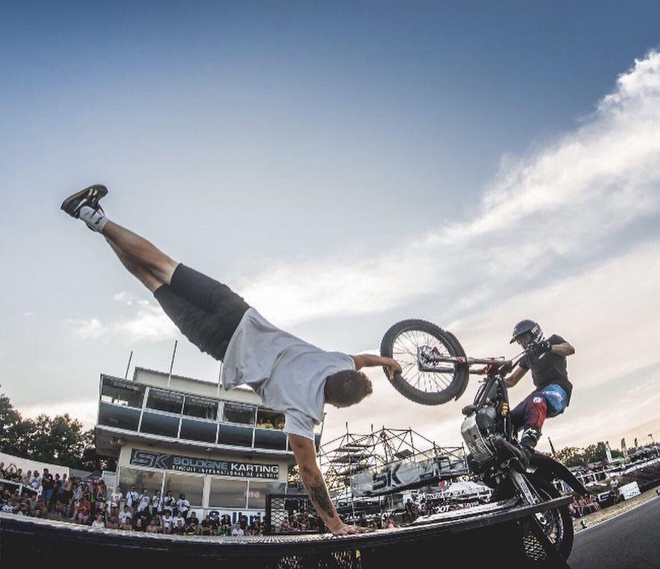 Wild Trial Show - Show de motos