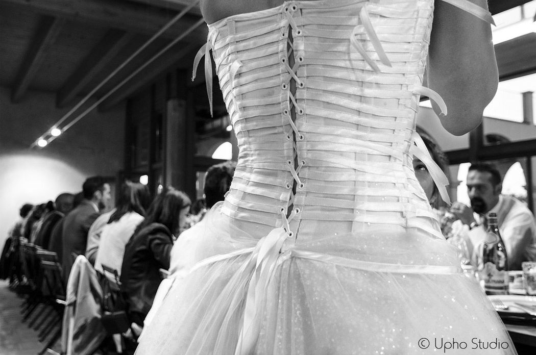 Dettagli: l'abito della sposa