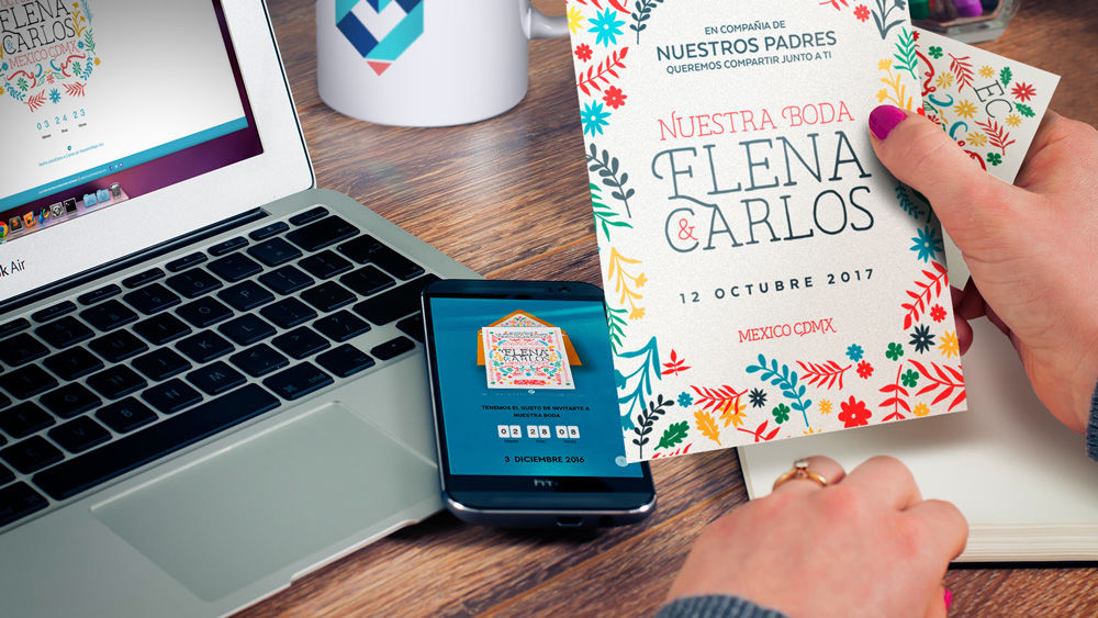Invitaciones de boda Digitales e Impresas México