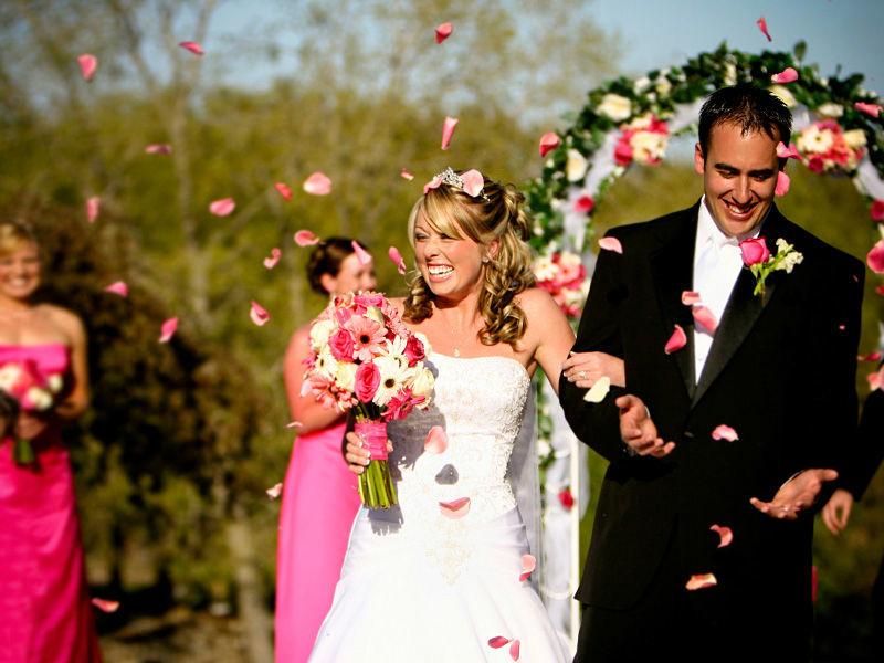 Romantische Trauung, Foto: Ihre Hochzeitsplanerin