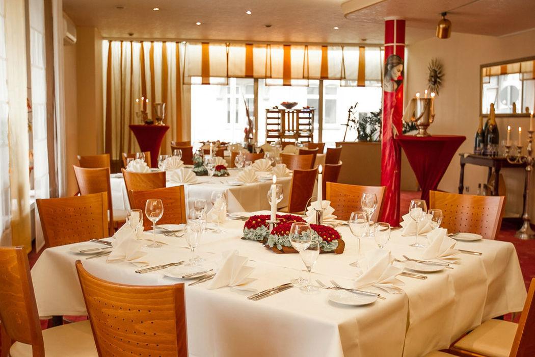 Beispiel: Pyramidensaal, Foto: Hotel Eden - Restaurant garbo.