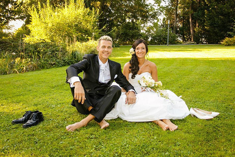 Beispiel: Unkonventionelle Hochzeitsfotos, Foto: Sandra Stamm Fotografie.