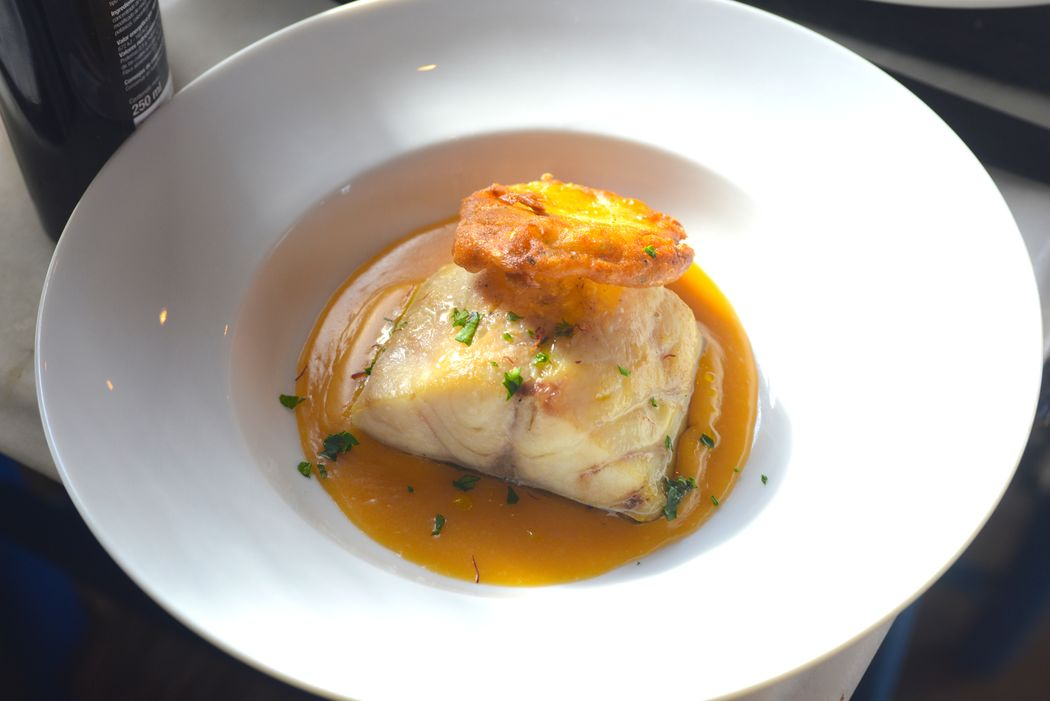 Gastronomia: Lubina Salvaje al Azafran