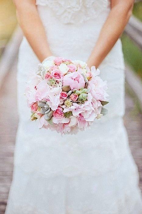 Bouquet de mariée Rétro Crédit Photo : Pauline Photography