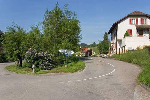 Beispiel: Zufahrt, Foto: Bergwerksilo Herznach
