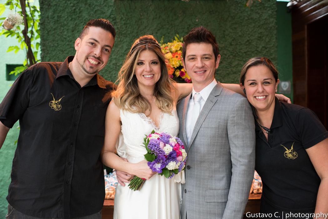 Casamento Mariana Santos - Decoração Venturinelli